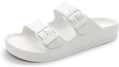FUNKYMONKEY Double-Buckle Sandals