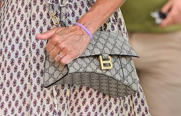 A Gucci x Balenciaga bag