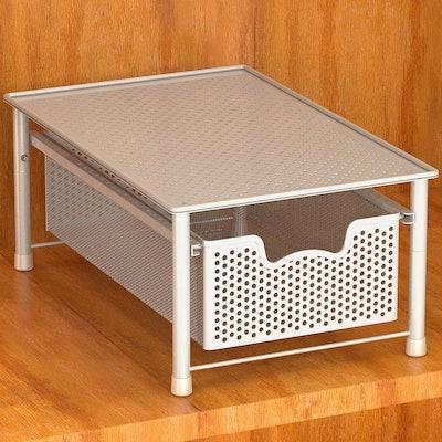 Simple Houseware Stackable Basket Drawer Organizer