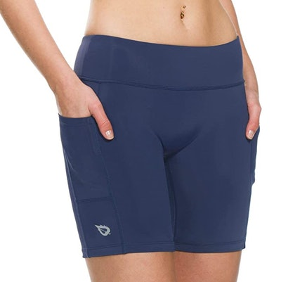 "BALEAF Women's 7"" Compression Biker Shorts"
