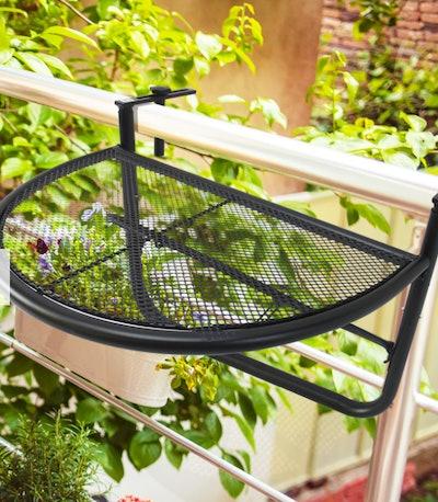 Balcony Hanging Table - Black