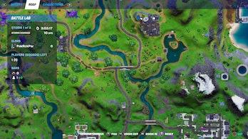 fortnite week 8 alien artifact location 1 map