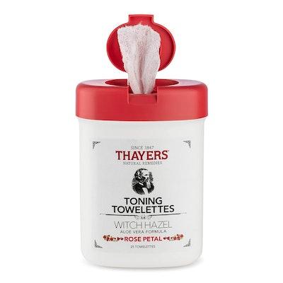 THAYERS Witch Hazel Toning Towelettes