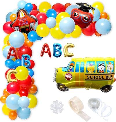 Back To School Balloon Garland Kit