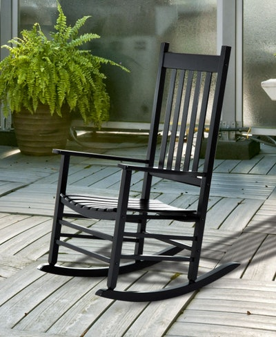 Porch Rocking Chair - Black