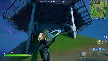 fortnite week 8 alien artifact location 1 gameplay