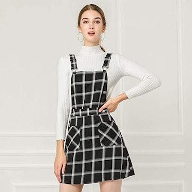 Allegra K Suspender Dress