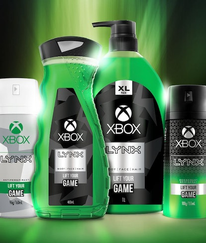 Xbox theme body wash from Axe and Microsoft