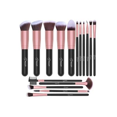 BESTOPE Makeup Brush Set (16 Pieces)