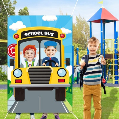 WATINC Back to School Photo Booth Props Frame