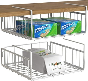Simple Houseware Under-Shelf Basket (Set Of 2)