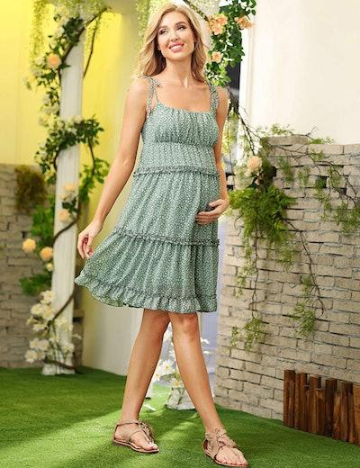 Macie Maternity Cami Dress