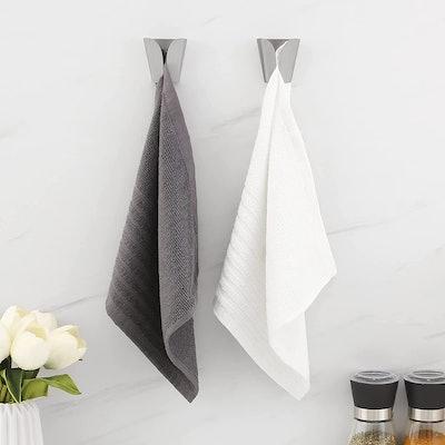 KES Self Adhesive Towel Hook (2-Pack)