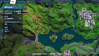fortnite week 8 alien artifact location 5 map