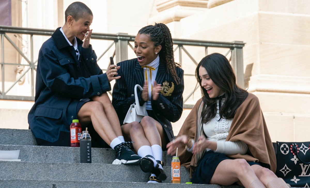 The 'Gossip Girl' reboot brought back Georgina Sparks' son Milo to stir up drama.