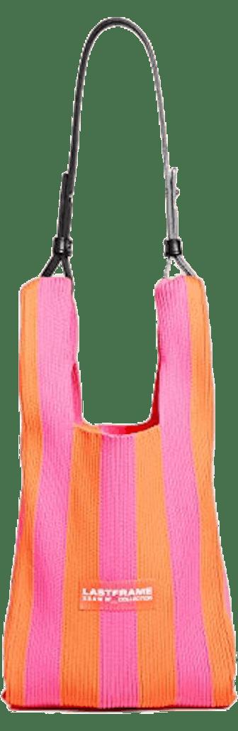 Stripe Market Bag Small