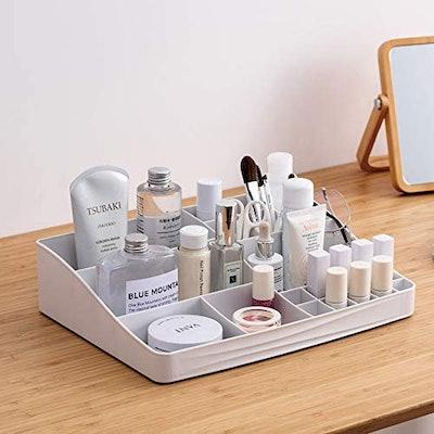 Cq acrylic Vanity Desktop Makeup Organizer