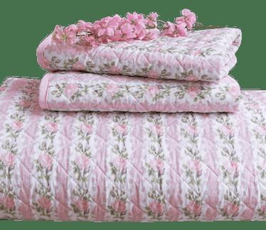 Blooming Heirloom Quilt & Sham Set