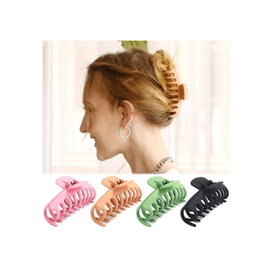 TOCESS Claw Hair Clips (4-Pack)