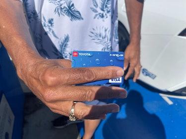 Toyota Mirai Debit Card