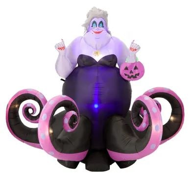 6 ft. Animated Ursula Airblown Halloween Inflatable