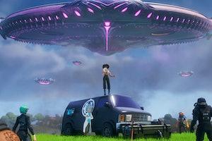 fortnite season 7 trailer ufo