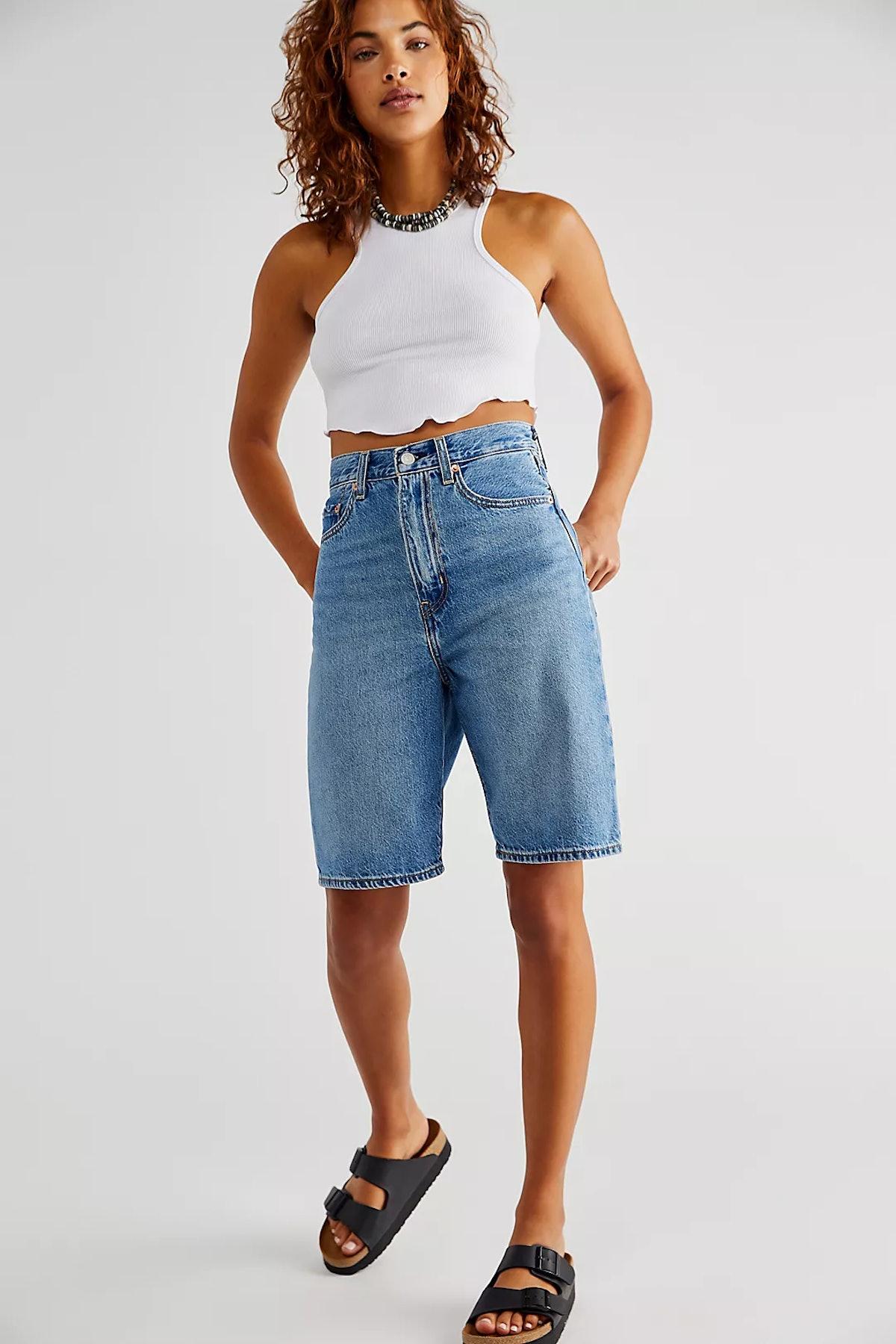 Free People Bermuda shorts.