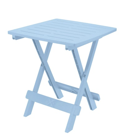 Adige Folding Table - Pastel Blue