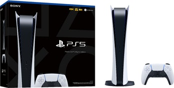 Sony Playstation 5 ditigal console with no disc drive