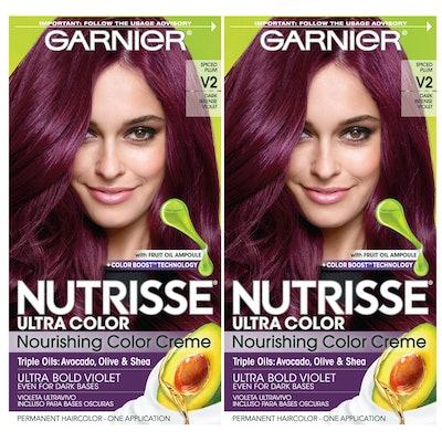 Garnier Nutrisse Permanent Hair Color Cream (2-Pack)
