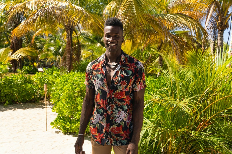 Chaun Williams, a contestant on HBO Max series 'FBoy Island' via the HBO Max press site