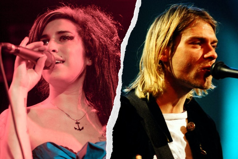 27 Club members include Amy Winehouse and Kurt Cobain.