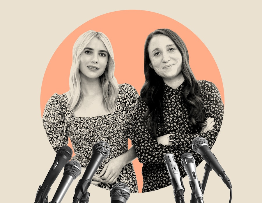 Emma Roberts and Karah Preiss are friends and the co-founders of Bellerist.