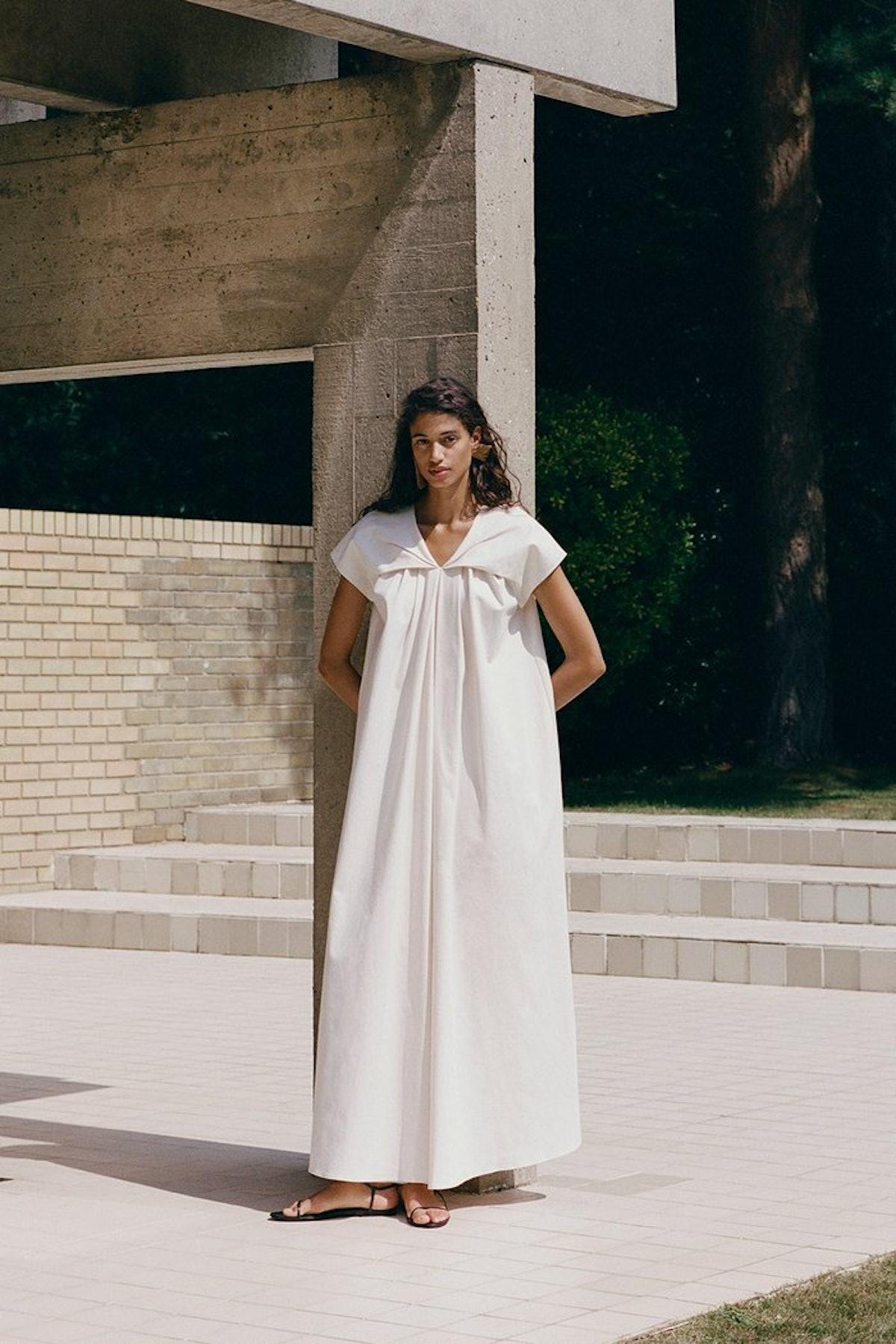 Anna Organic Cotton Dress
