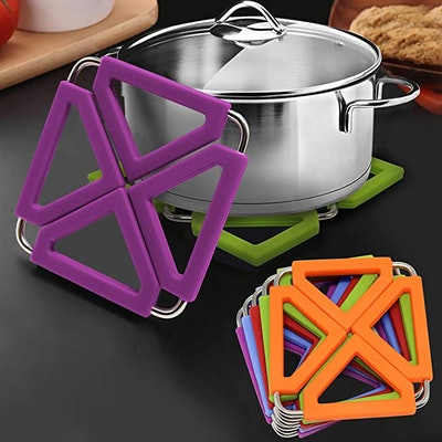 Silicone Trivet Mats (5-Pack)