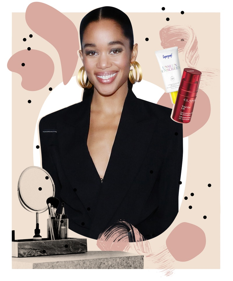 Laura Harrier tells Bustle about her go-to protective hairstyle, the one thing she wishes she knew s...