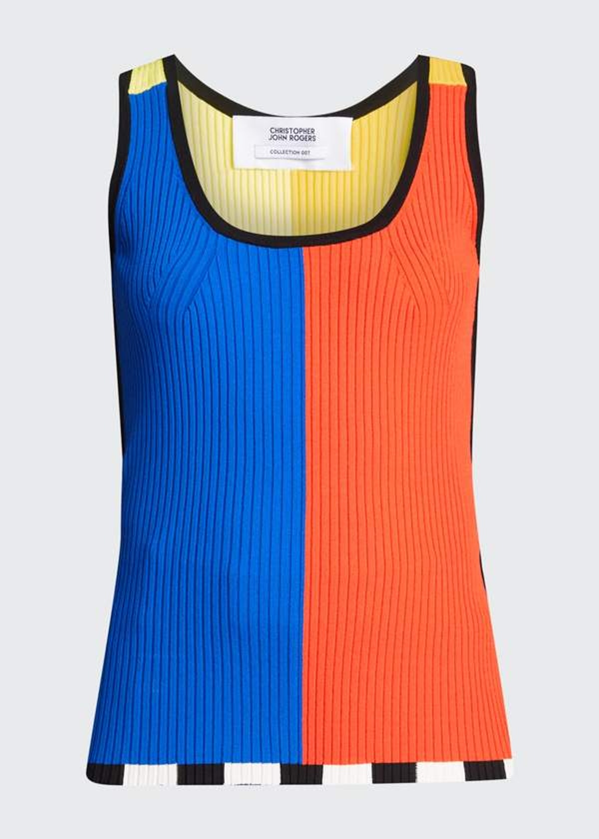 Colorblock Knit Top