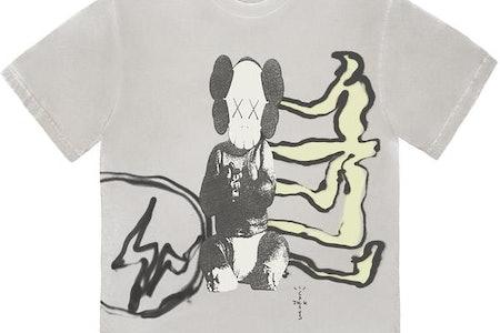 Travis Scott Fragment KAWS T-shirt