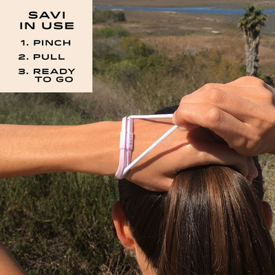 SAVI STYLE Silicone Sportswear Hair Tie Bracelet