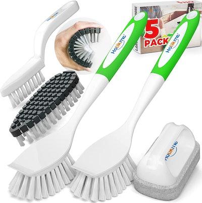 Holikme Kitchen Cleaning Brush Set (5 Pack)