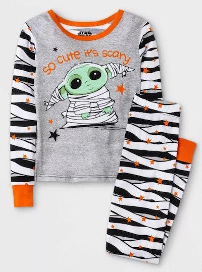 Baby Yoda Halloween 2pc Pajama Set