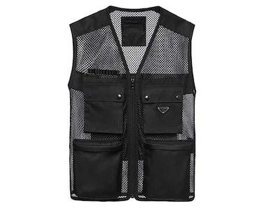 Prada Outdoor Mountain mesh vest
