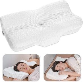 Elviros Memory Foam Cervical Pillow