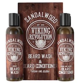 Viking Revolution Beard Wash & Conditioner Set, 5 oz. each