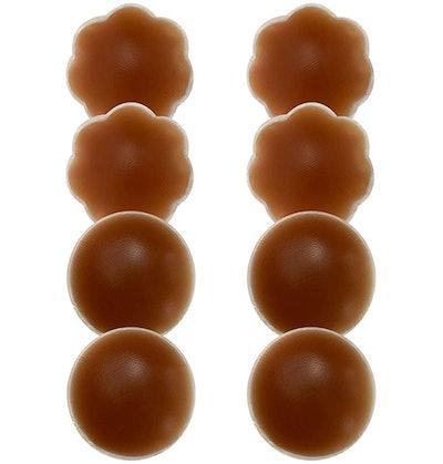 MUQU Silicone Pasties Breast Petals (4 Pairs)