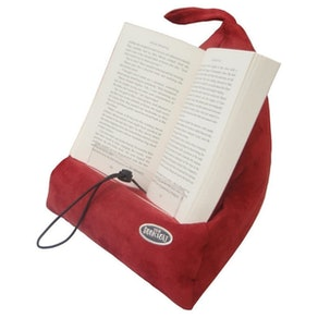 The Book Seat Book Holder and Travel Pillow
