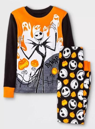 The Nightmare Before Christmas Jack Skellington 2pc Pajama Set