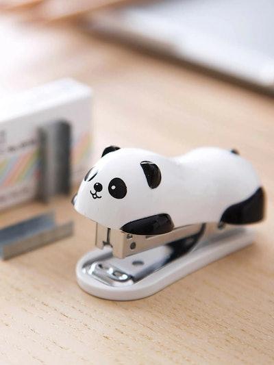 panda shaped mini stapler