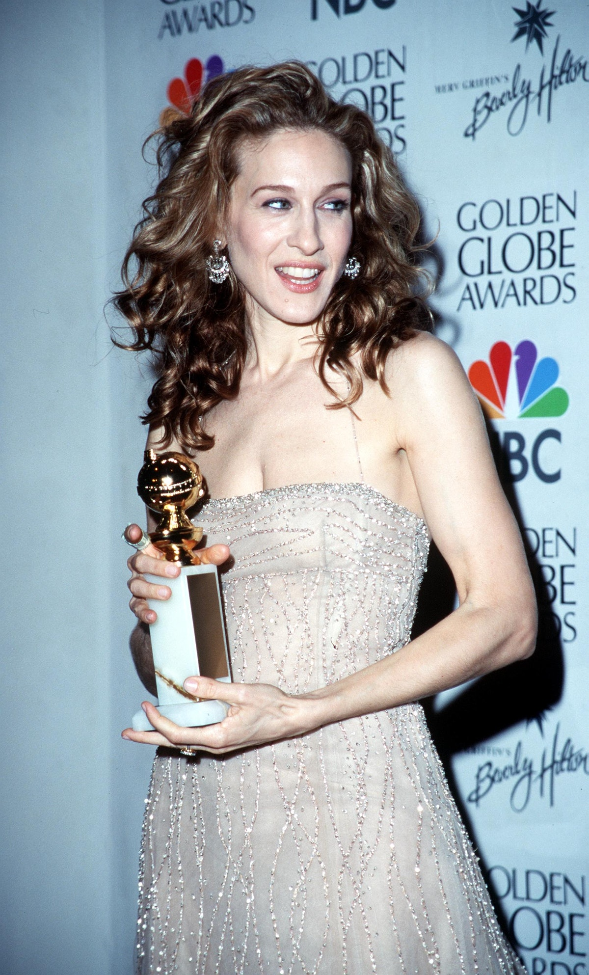 Sarah Jessica Parker at the 57th Annual Golden Globe Awards