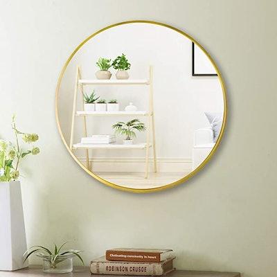 Beauty4U Wall Round Mirror